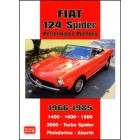 Fiat 124 Spider Performance Portfolio 1966-1985