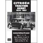 Citroen Traction Avant Limited Edition Premier 1934-1957