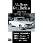 Alfa Romeo Giulia Berlinas Limited Edition Extra 1962-1976
