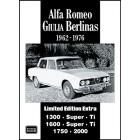 Alfa Romeo Giulia Berlinas Limited Edition Extra 1962-1976