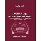 Jaguar XJ6 Workshop Manual Owners Edition (XJ40)