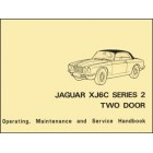 Jaguar XJ6C Series 2 Two Door Handbook