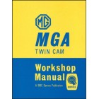 MG MGA Twin Cam Workshop Manual