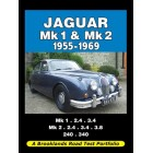 Jaguar Mk 1 & Mk 2 1955-1969 Road Test Portfolio