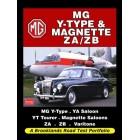 MG Y-Type & Magnette ZA/ZB Road Test Portfolio
