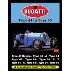 Bugatti Type 41 to Type 55 Road Test Portfolio