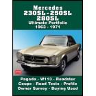 Mercedes 230SL - 250SL - 280SL Ultimate Portfolio 1963-1971