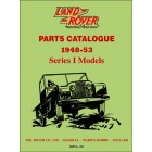 Land Rover Series I  Parts Catalogue 1948-53