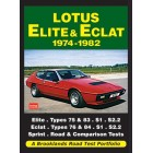 Lotus Elite & Eclat  1974-1982   Road Test Portfolio