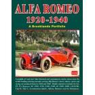 Alfa Romeo 1920-1940 A Brooklands Portfolio