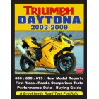 Triumph Daytona 2003-2009 Road Test Portfolio