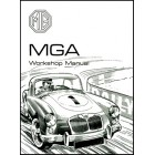 MG MGA Workshop Manual 1500 1600 1600 MK II