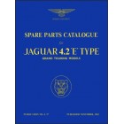 Jaguar E-Type Series 1, 4.2 Litre Parts Catalogue