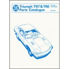 Triumph TR7 & TR8 Spare Parts Catalogue