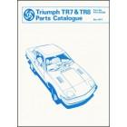 Triumph TR7 & TR8 Spare Parts Catalogue