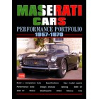 Maserati Cars Performance Portfolio 1957-1970