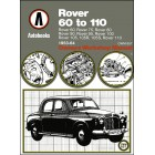 Rover  P4 60 to 110 Owners Workshop Manual 1953-1964