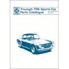 Triumph TR6 Sports Car 1969-1973 Parts Catalogue