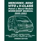 Mercedes-Benz Vito & V-Class Petrol & Diesel Models Workshop Manual 2000-2003