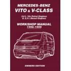 Mercedes-Benz Vito & V-Class 1996-1999 Owners Workshop Manual
