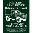 Military Land Rover Defender XD - Wolf  Parts Catalogue - Now Available