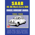 Saab 95-96 Sport and Monte Carlo 850 Owners Workshop Manual 1960-1968 -