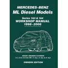 Mercedes Benz ML Diesel Models Series 163 & 164 Owners Workshop Manual 1998-2006