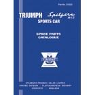 Triumph Spitfire Mk3 Spare Parts Catalogue